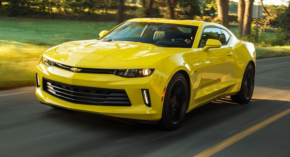 Camaro Moves Closer To Aussie Launch With Trademark