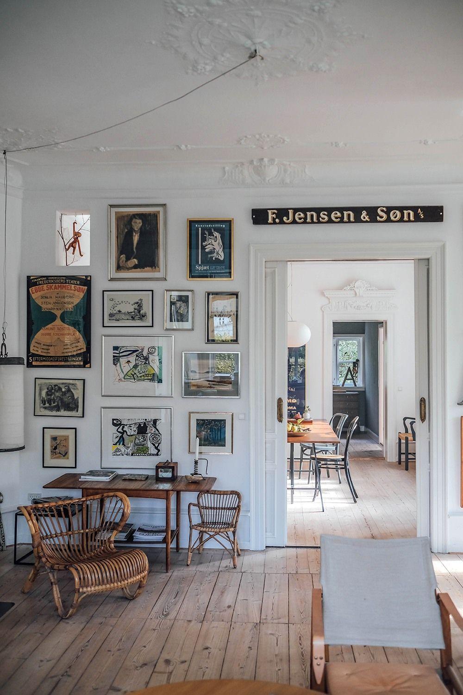 Home Tour With Elisabeth Bruun Rasmussen Hans Faerch Jensen