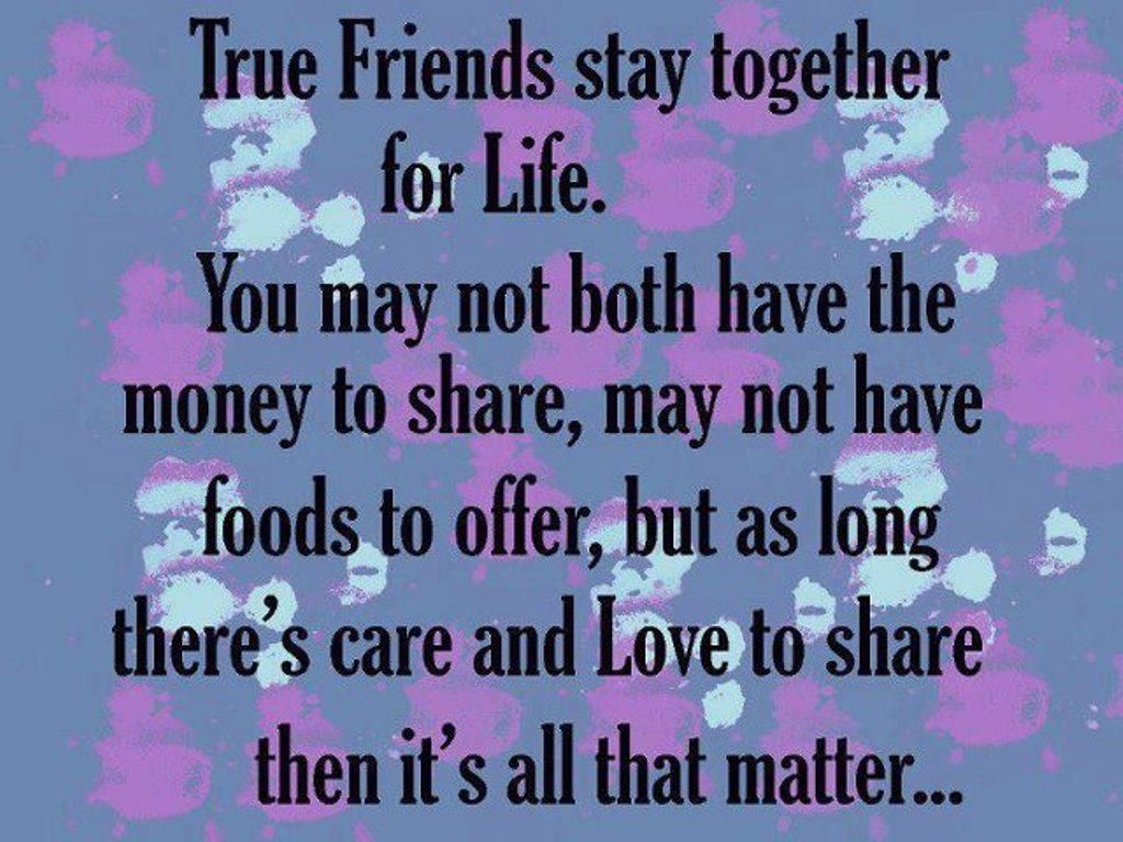 Quotes About Friendship Forever Ture Friends Stay For  Quotes  Pinterest  Wisdom