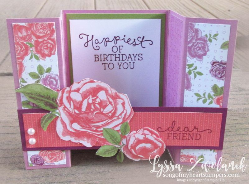 Superb Card Making Ideas And Techniques Part - 8: Bridge Fold Card Tutorial Free Easy Quick Stampin Up Rubber Stamping  Techniques