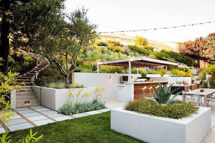 #Garten Garten Terrassieren U2013 Praktische Tipps Und Ideen Für Einen Schönen  Hanggarten #Garten #