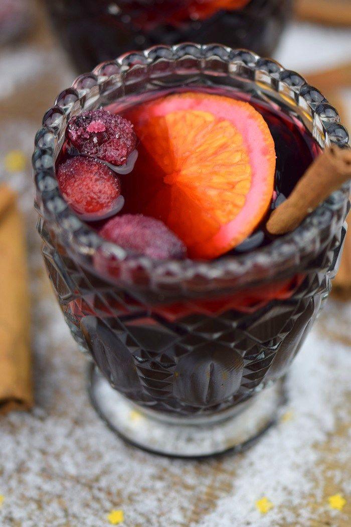 Alkoholfreier Punsch und weihnachtliche Schoko Mousse | Rezept ...