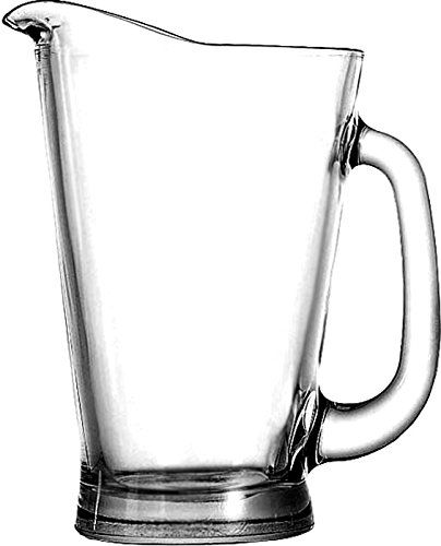 La jarra de cerveza de cristal Anchor Hocking carro con la manija, 55 onza