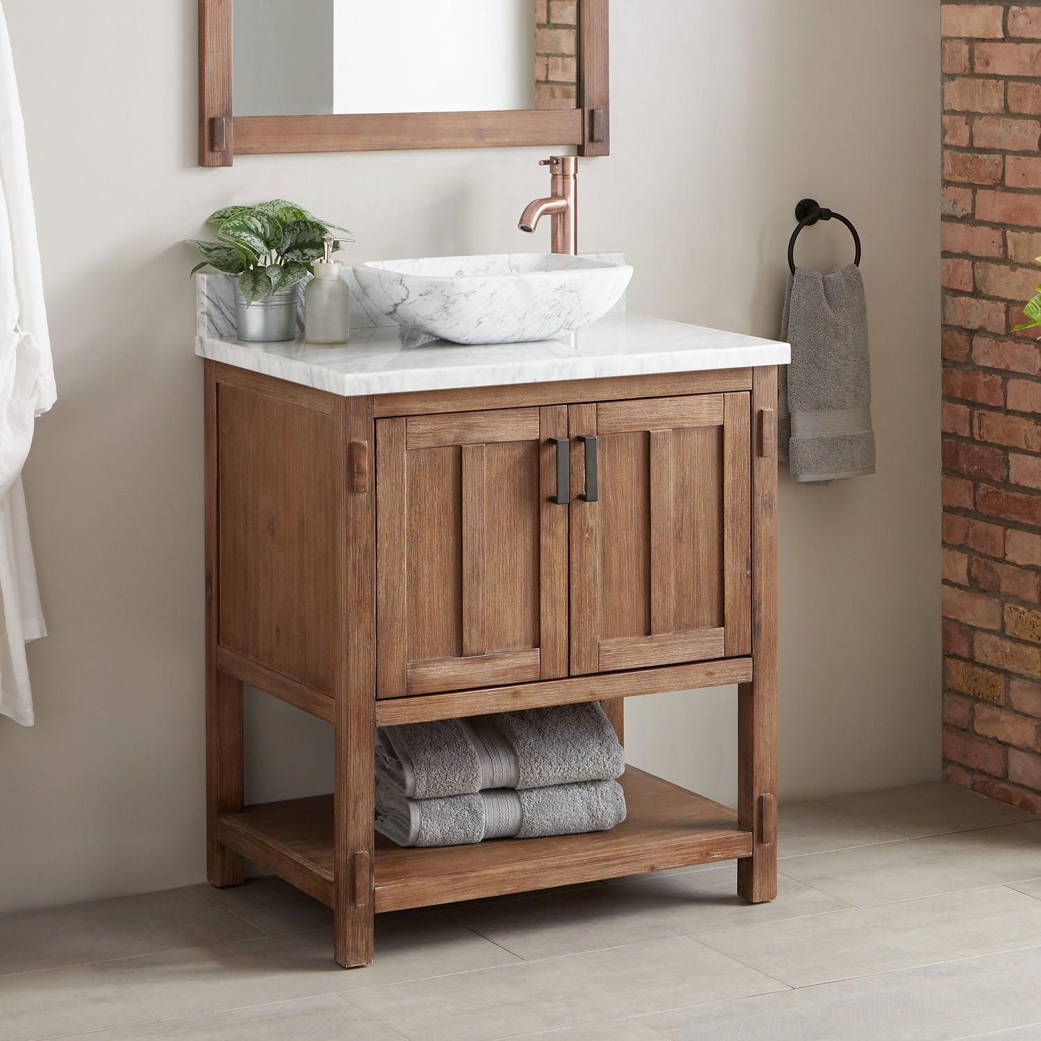 30 Morris Console Vessel Sink Vanity Vessel Sink Vanities Bathroom Vanities Bathroom Bathroom In 2020 Single Bathroom Vanity Vessel Sink Vanity Bathroom Design