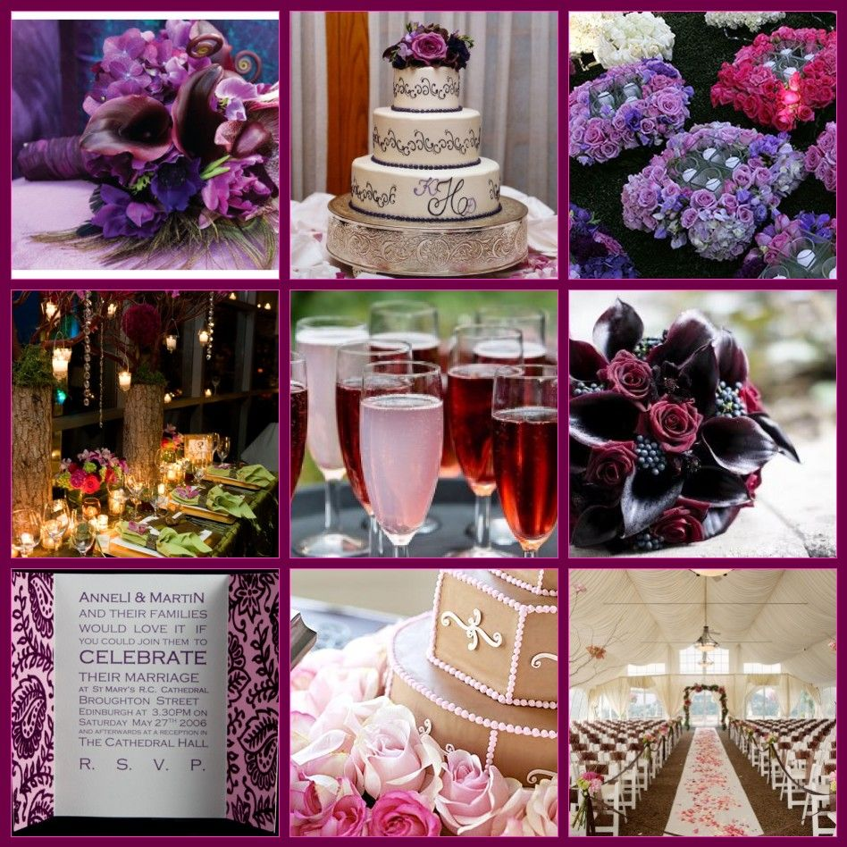 Purple And Red Wedding Ideas: Pin By Dream Weddings In Italy