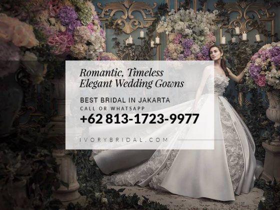 Bridal Shops In Jakarta Gaun Pengantin Warna Putih Mewah