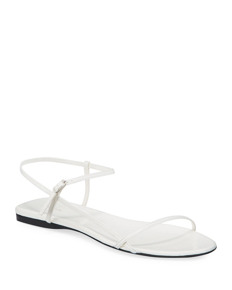 The Row Bare Flat Sandal In 2020 Flat Sandals Sandals