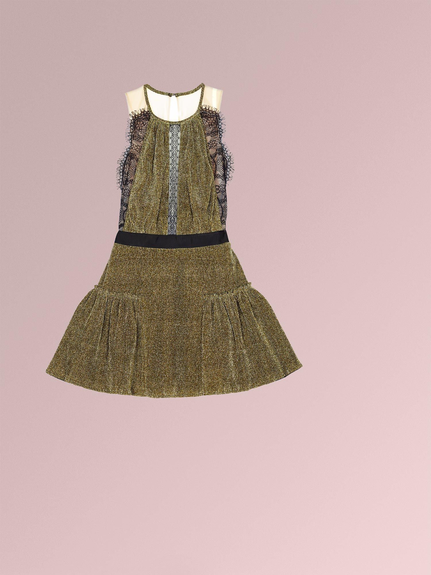 THREE FLOOR - GOLD DUST Dress