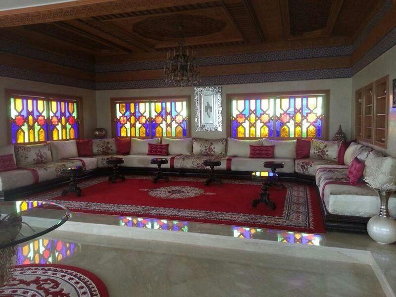 salon marocain salon marocain moderne Pinterest Salons