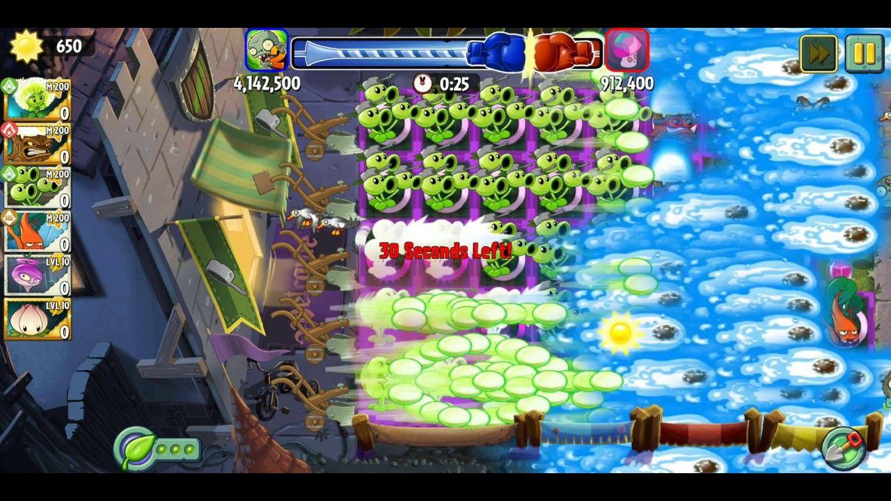 Plants Vs Zombies 2 Battlez Week 58 Over 7 Mill Threepeater