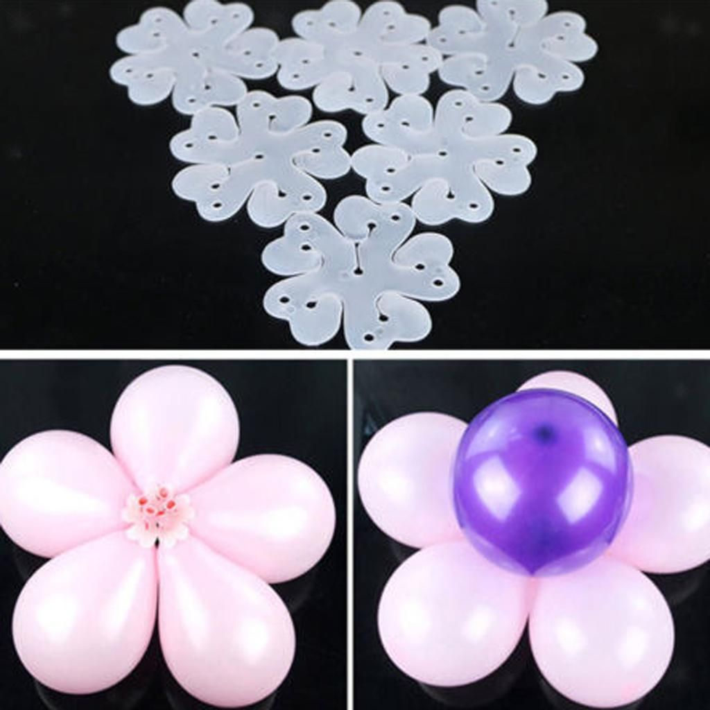 Balloon clip ties for sealing helium gas air balloons party quick /& easy