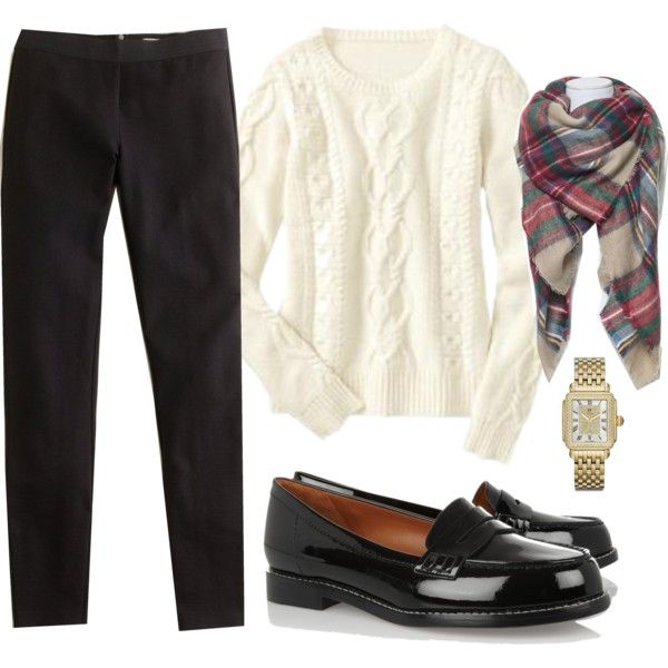 ootd 10.24.16 by cdsommer on Polyvore featuring Gap, J.Crew, Michele and Zara
