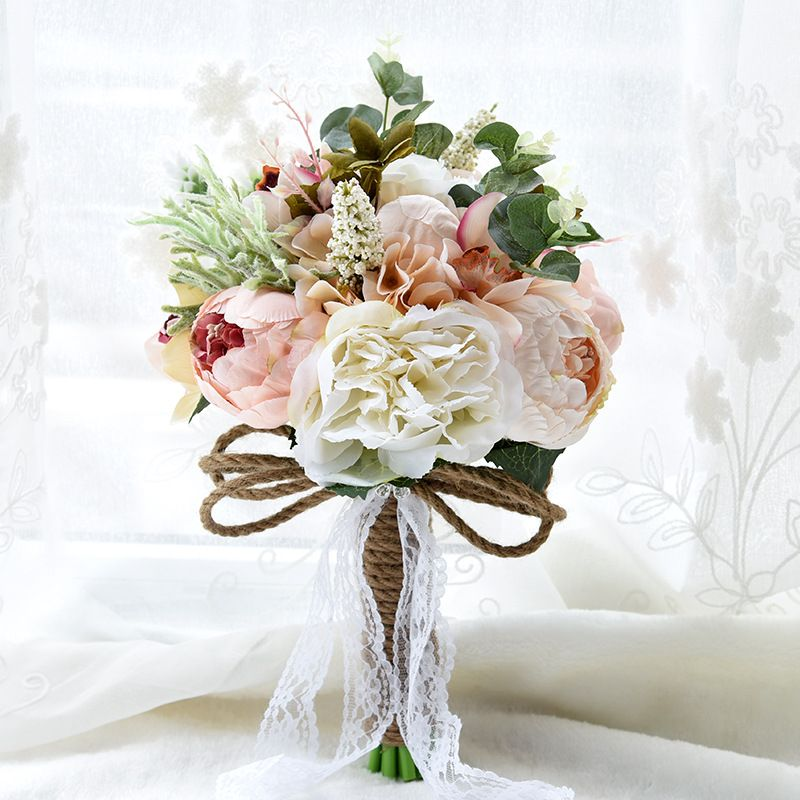 2016 Countryside Style Artificial Wedding Bouquets For Brides ...