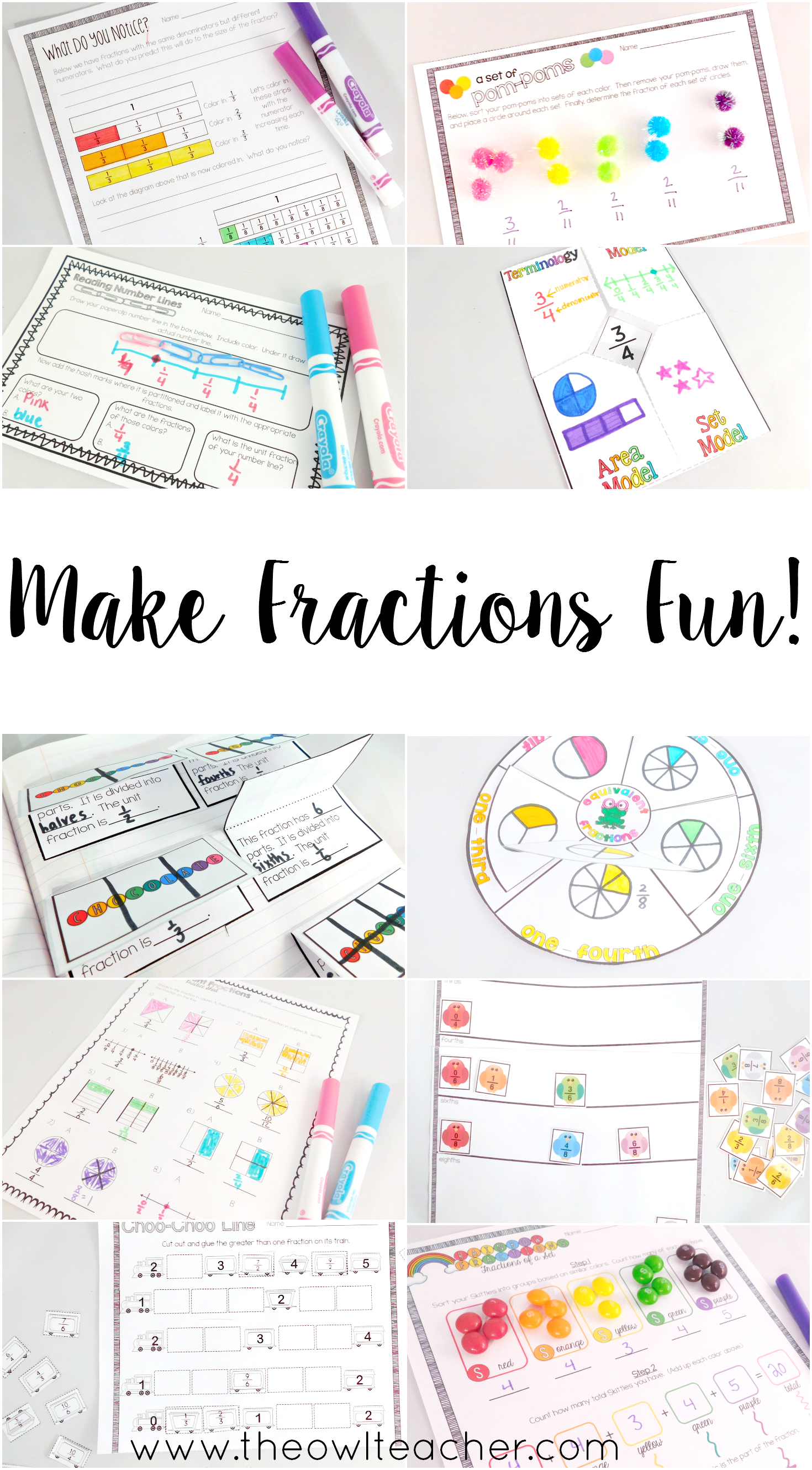 Understanding Fractions And Equivalent Fractions Math
