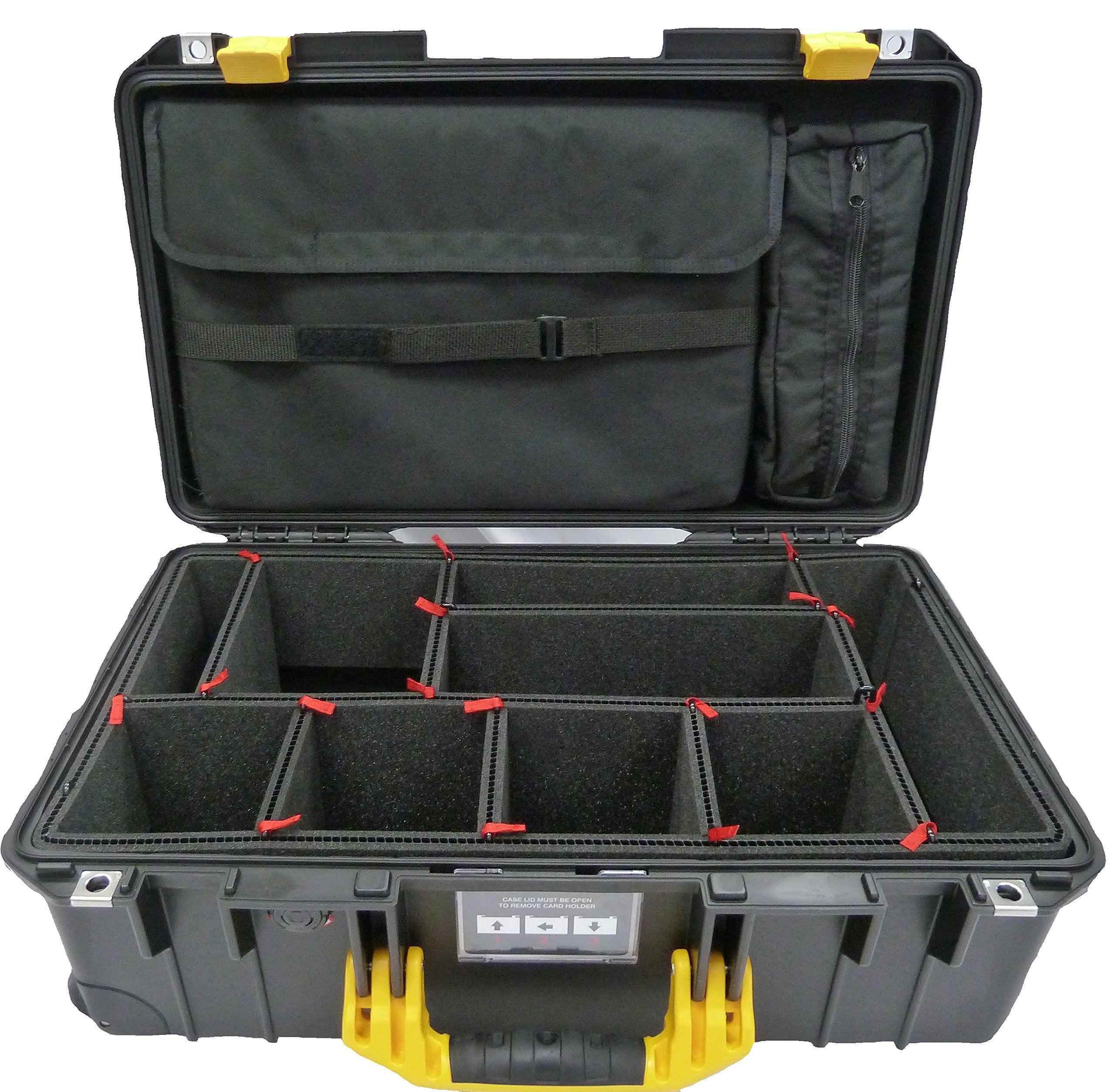 CVPKG Presents Black & Yellow Pelican 1535 Air case, with