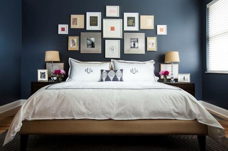 Couleur chambre adulte  idées déco avec nuances foncées Bedrooms