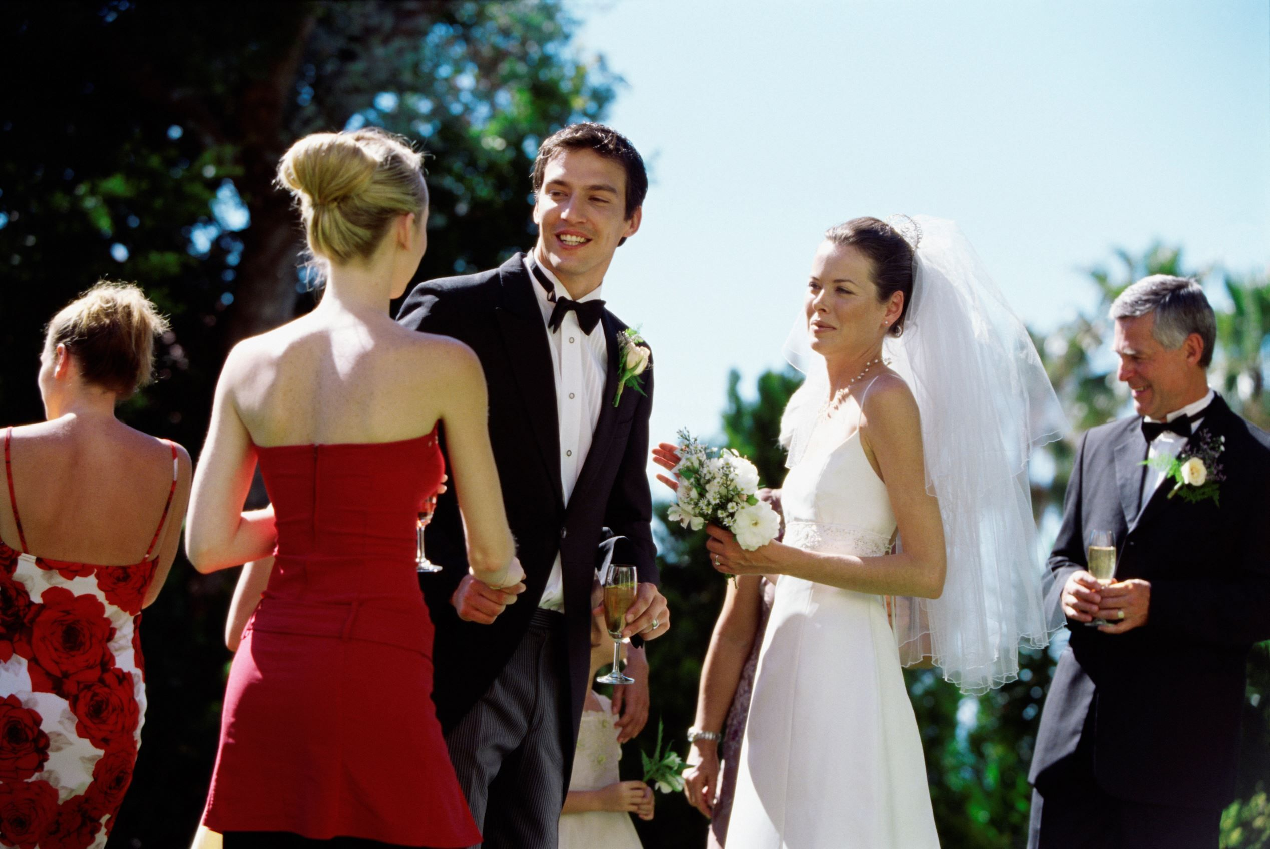 Past Present Wedding Traditions Receiving Line Now Why
