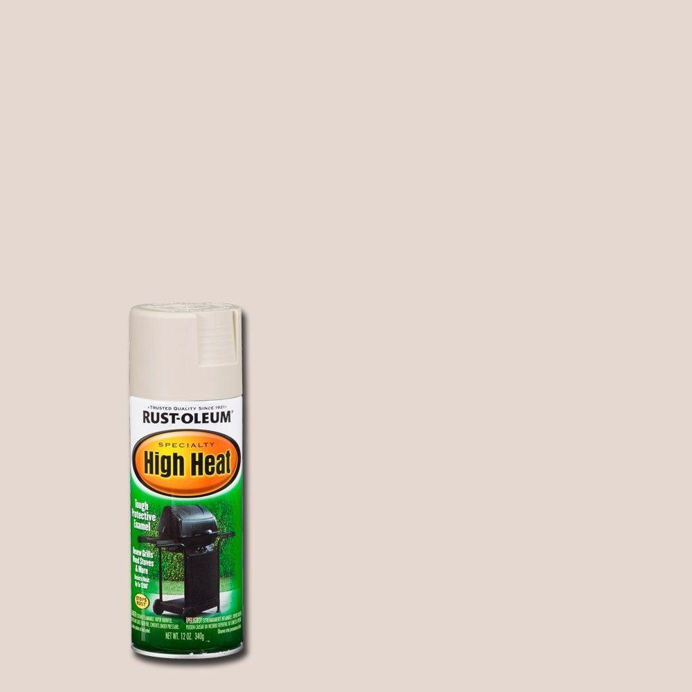 Rust Oleum Specialty 12 Oz High Heat Satin Almond Spray