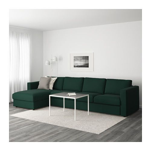 IKEA VIMLE 4 Seat Sofa The Cover Is Easy To Keep Clean Since It Is
