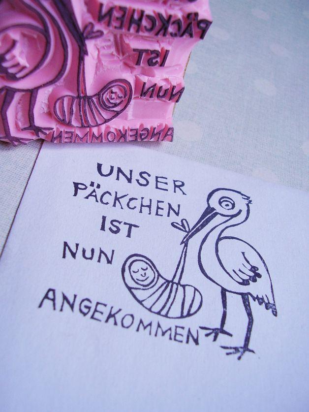 Spruche Slogans Stempel Zur Geburt Baby Da Ein Designerstuck