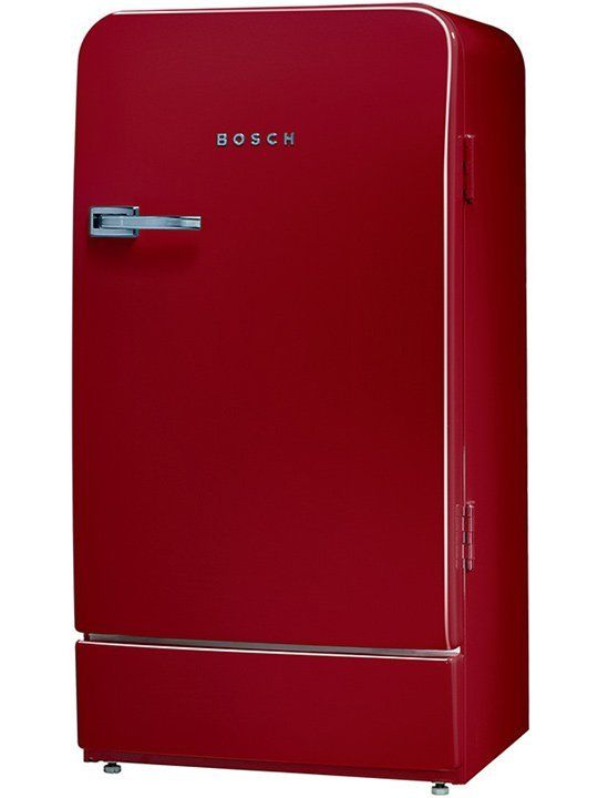 spice up your kitchen with the bosch classic fridge apartment therapy kitchens and apartments. Black Bedroom Furniture Sets. Home Design Ideas