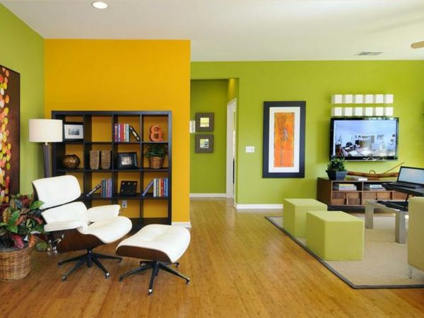 Awesome Wohnzimmer Gelb Orange Gallery - Ideas & Design