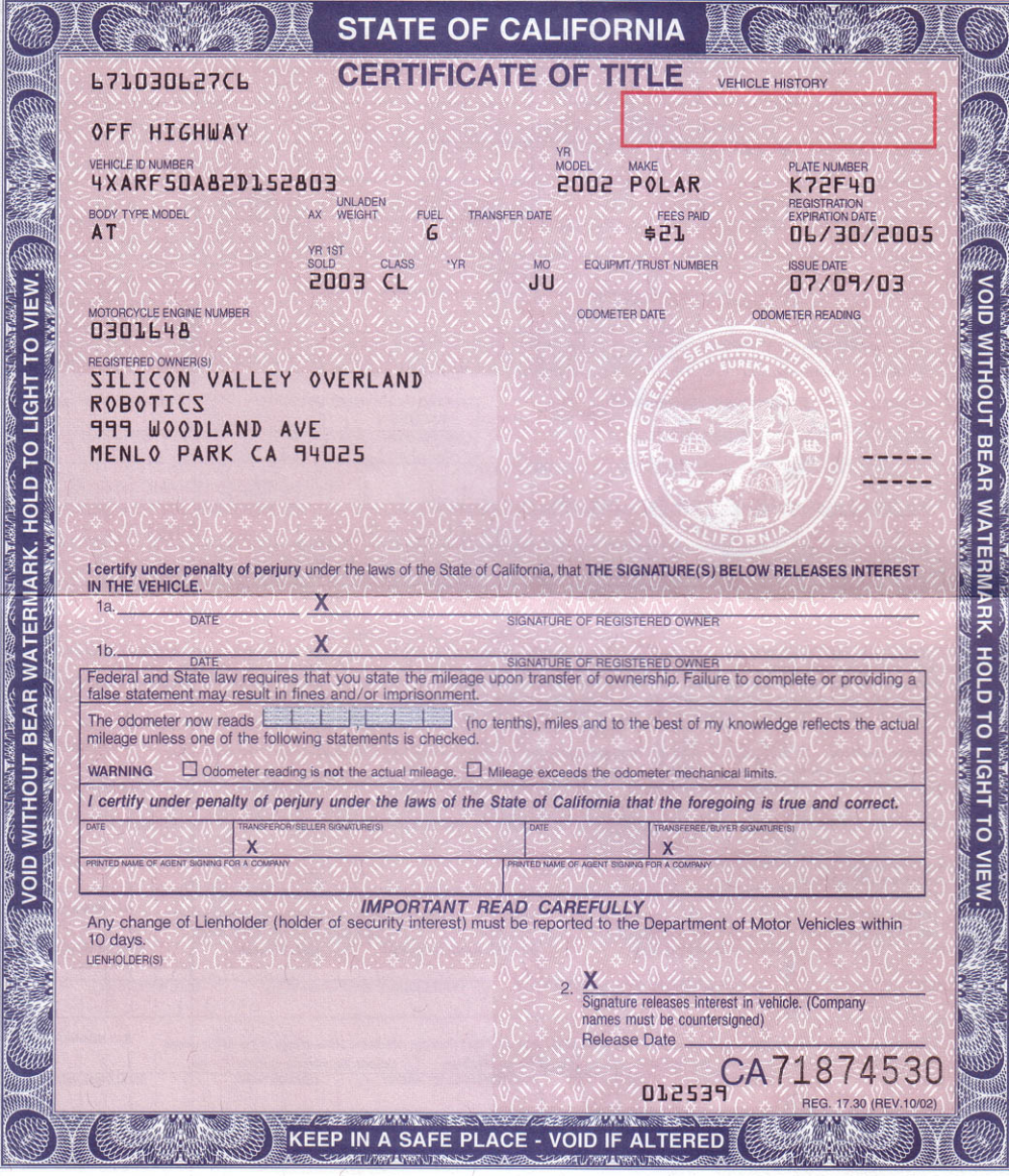 Certificate Of Origin For A Vehicle Template 4 Best Templates Ideas For You Best Templates Ideas For Yo In 2021 Best Templates Birth Certificate Template Car Title