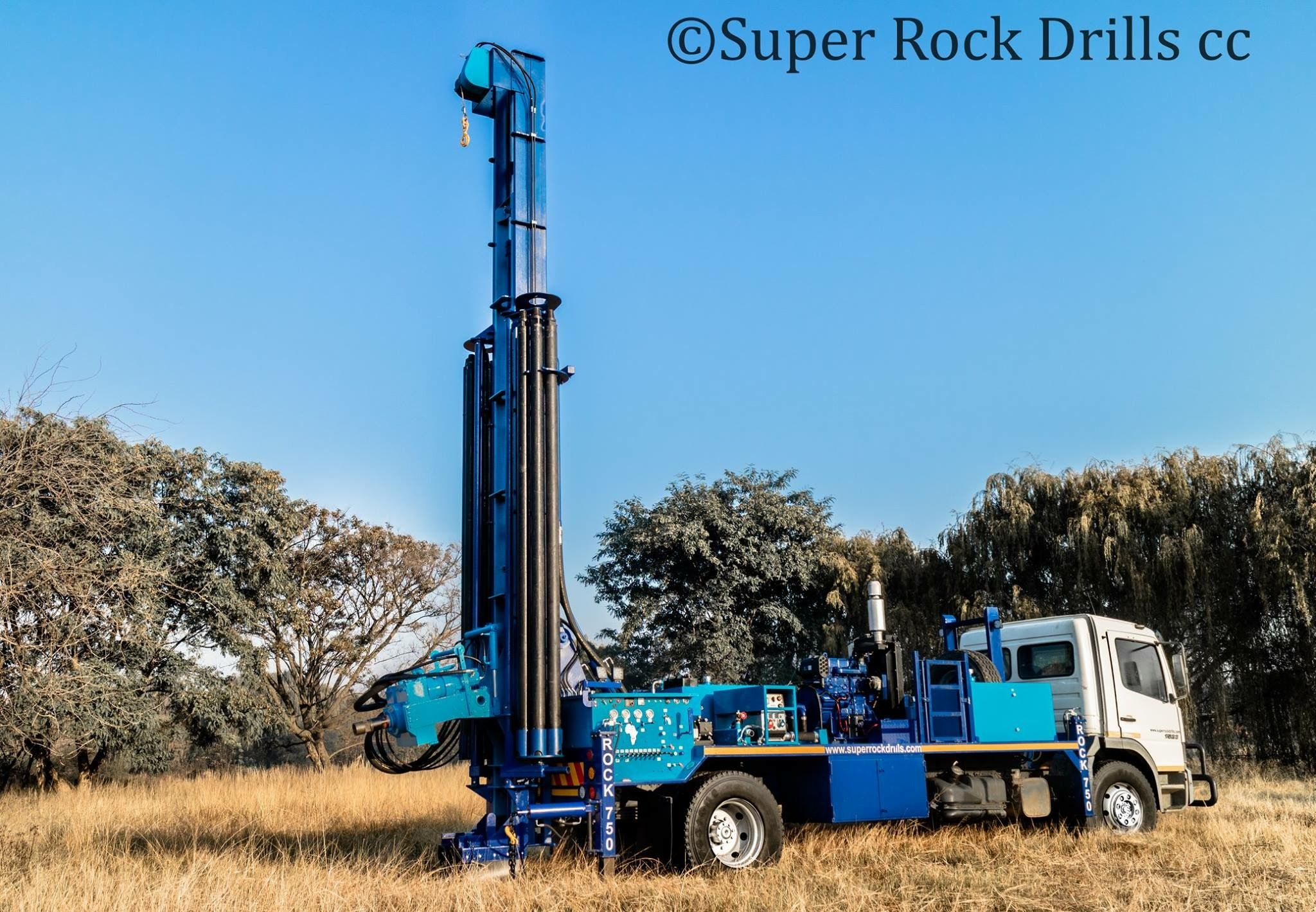 Sr750 Water Well Drill Rig Water Well Drilling Well Drilling Drilling Machine