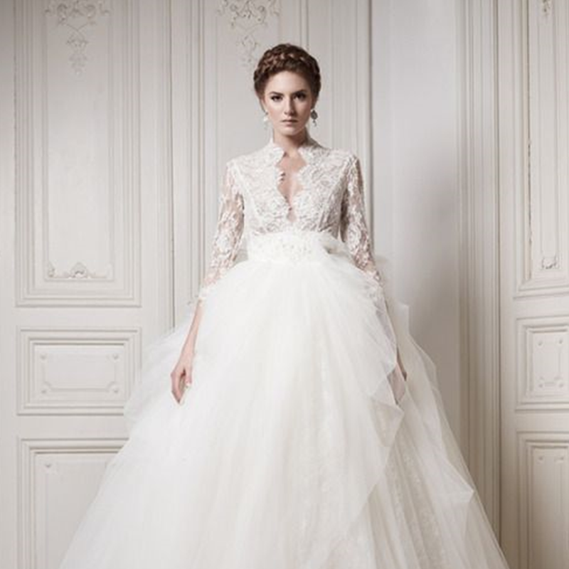 Wedding dress - tull