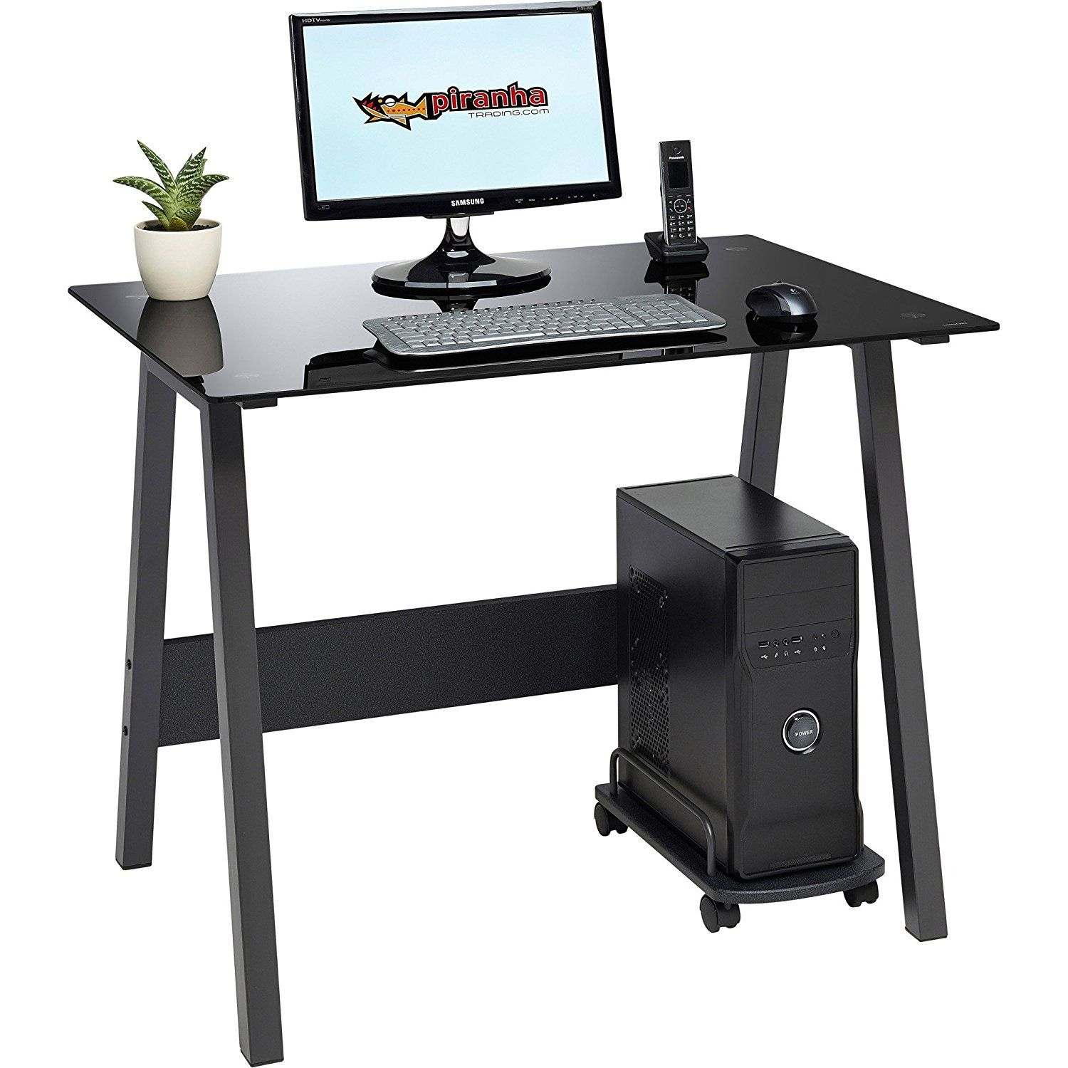 30 Computer Gl Desks For Home Modern Furniture Check More At Http