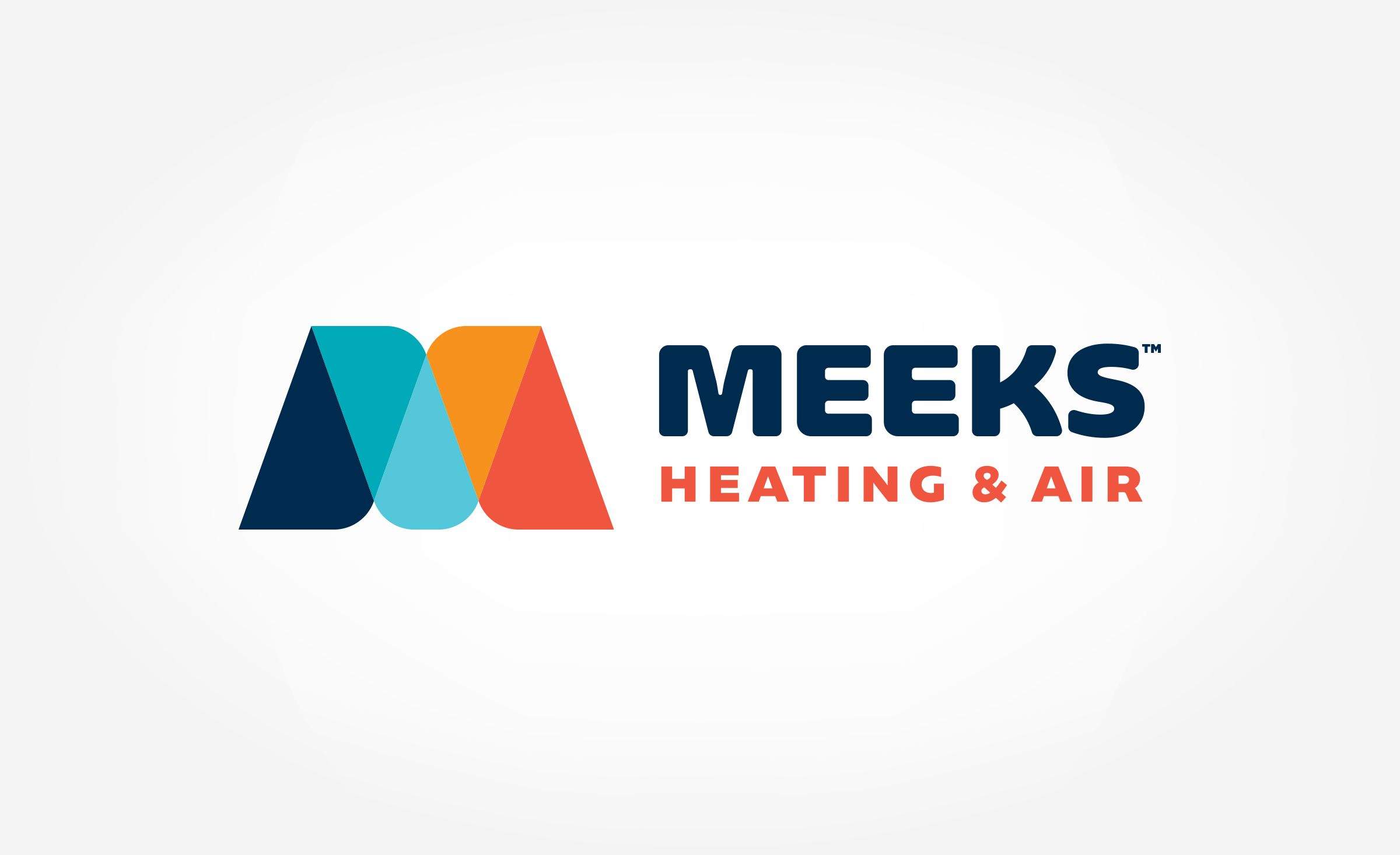 Meeks Heating Air Kickcharge Creative Logo Inspiration