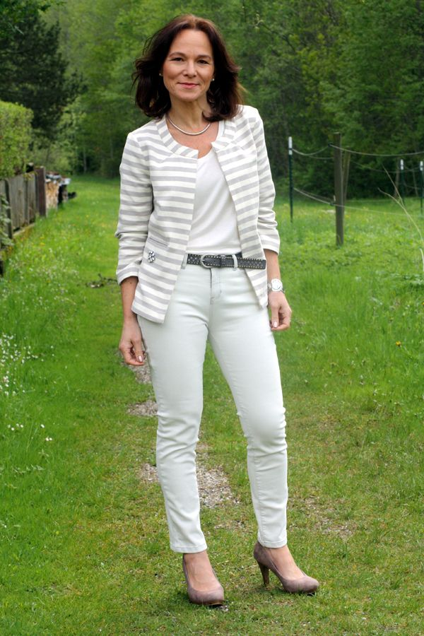 CASUAL SPRING LOOK IN NEUTRALS BY OPUS