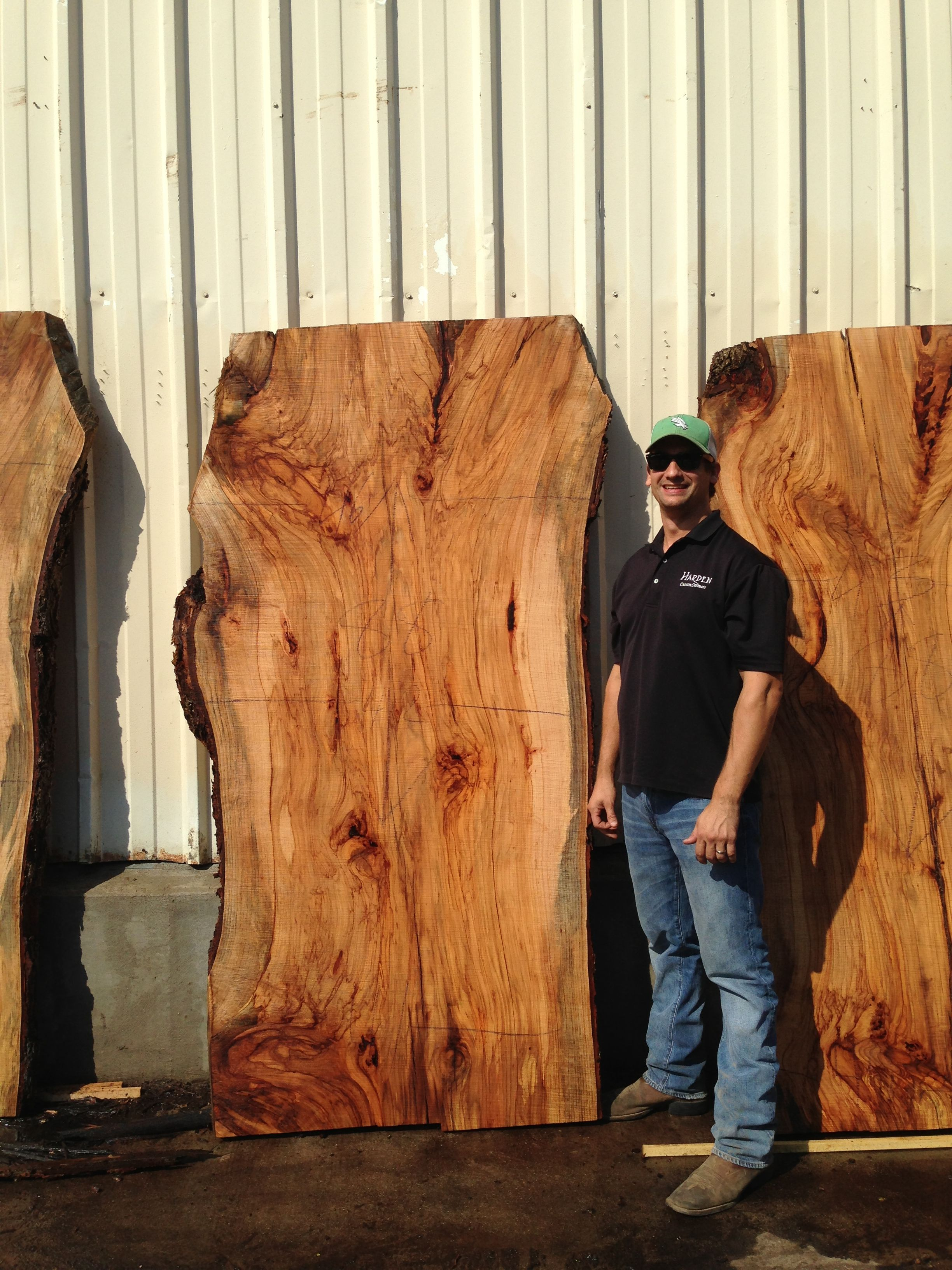 Pecan slab 08 29 13 2448 3264 natural edge wood for Natural edge wood countertops