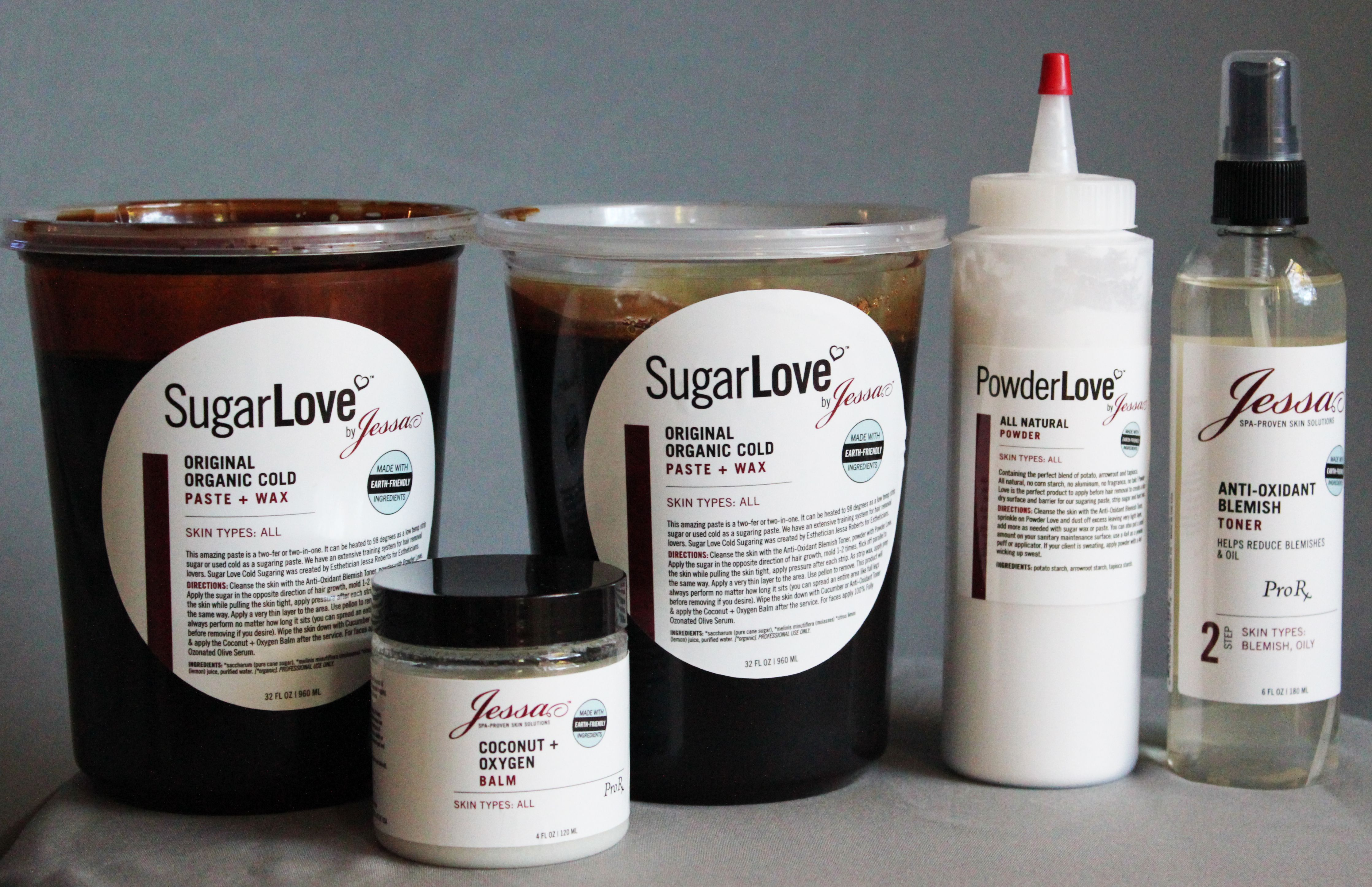 organic face and body products