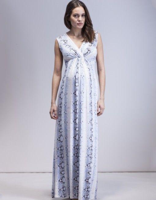 2ebe05f966510 ISABELLA OLIVER VIENNA PRINT MATERNITY MAXI DRESS £159.00 - See more at:  http: