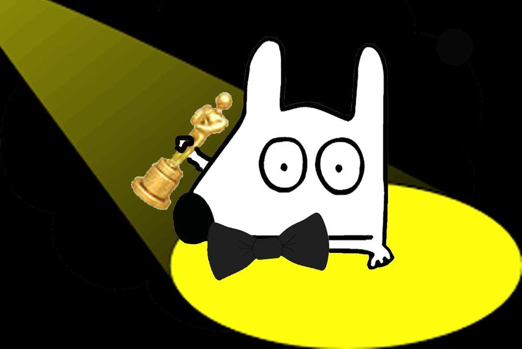 Stinky at the 2015 Oscars