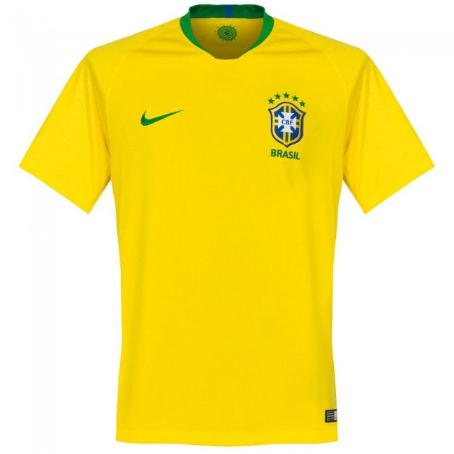 077b006e4c Camiseta de Brasil 2018-2019 Local  shirt  maillot  jersey  remera  playera   worldcup  mundial  brazil