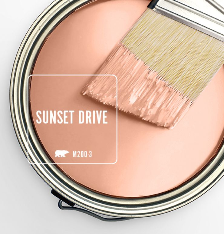 Color Of The Month: Sunset Drive