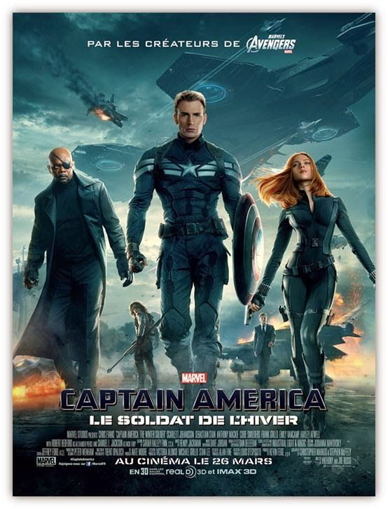 Captain America Et Le Soldat De L'hiver : captain, america, soldat, l'hiver, Captain, America,, Soldat, L'hiver, Hiver,, America