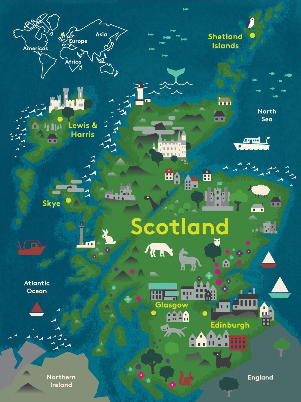 Destination Scotland Inspirational Photos and Stories