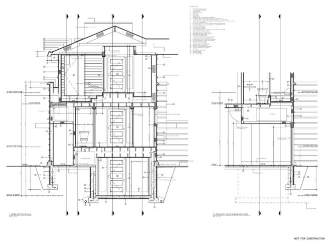 Architect S Toolbox 6 Drawings On The Way To A Dream Home Construction Drawings Architectural Section Architecture Presentation