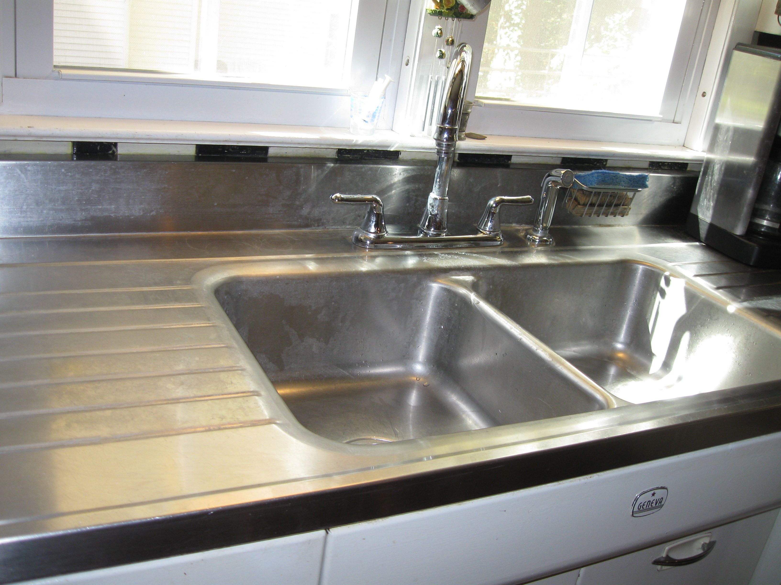 Geneva Sink Top Stainless Steel And Sink Base For Sale On Craigslist Asking 600 Sold Stainless Steel Sinks Sink Top Sink