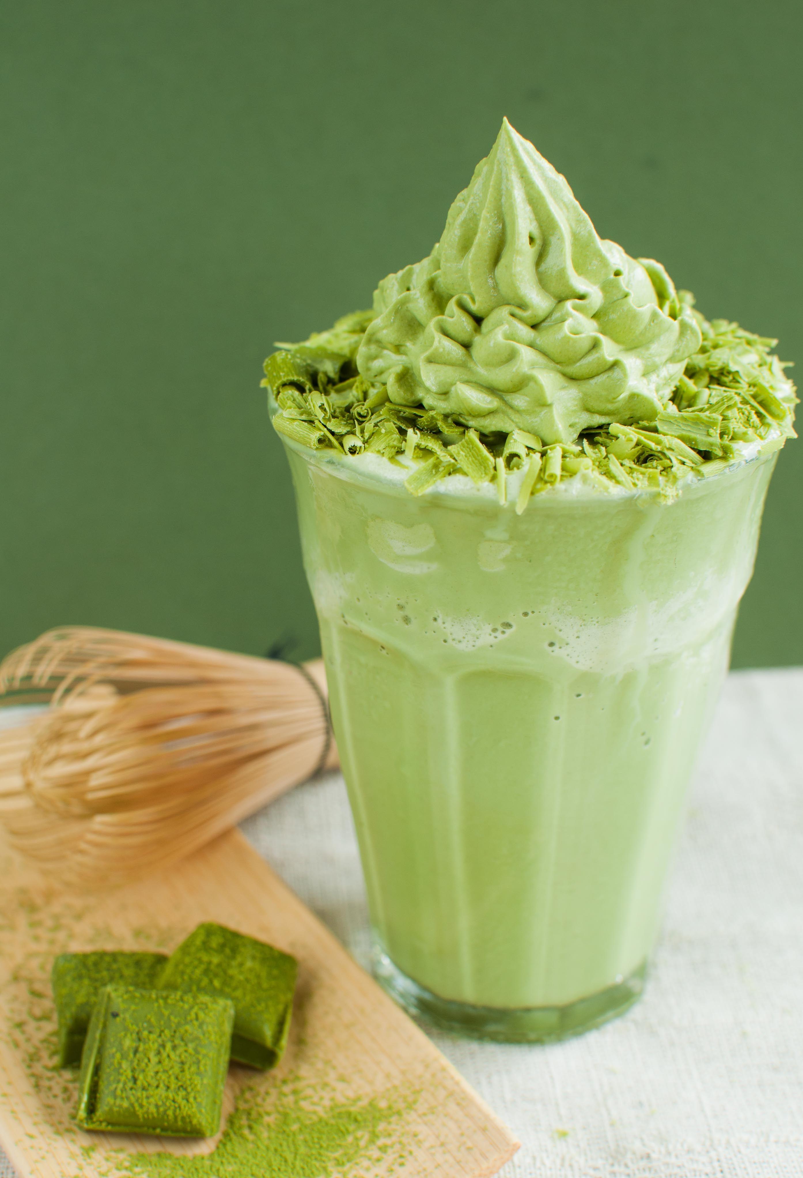 Deluxe Matcha Shake #matcha #shake #dessert #sweet #drink #mof # ...