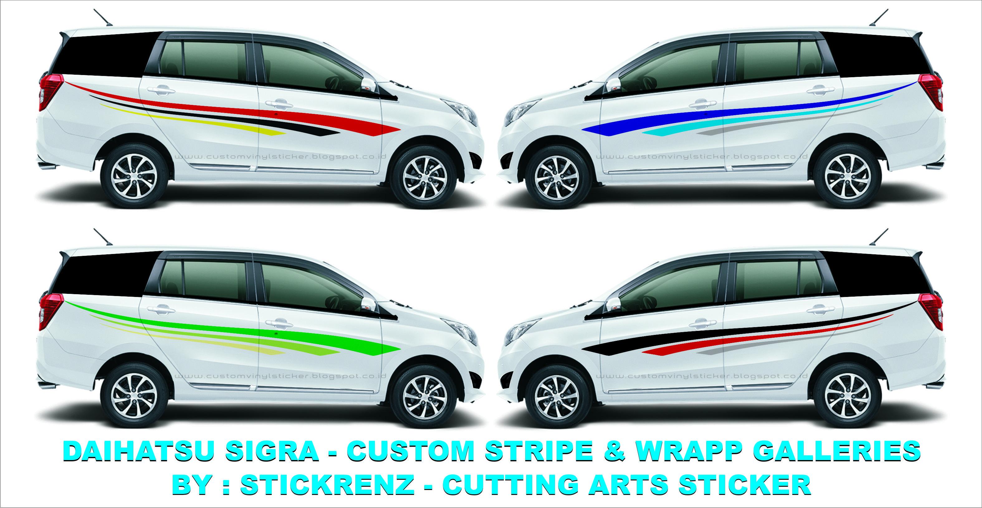 Daihatsu Sigra Custom Stripe Wrapp Concept Galleries 005