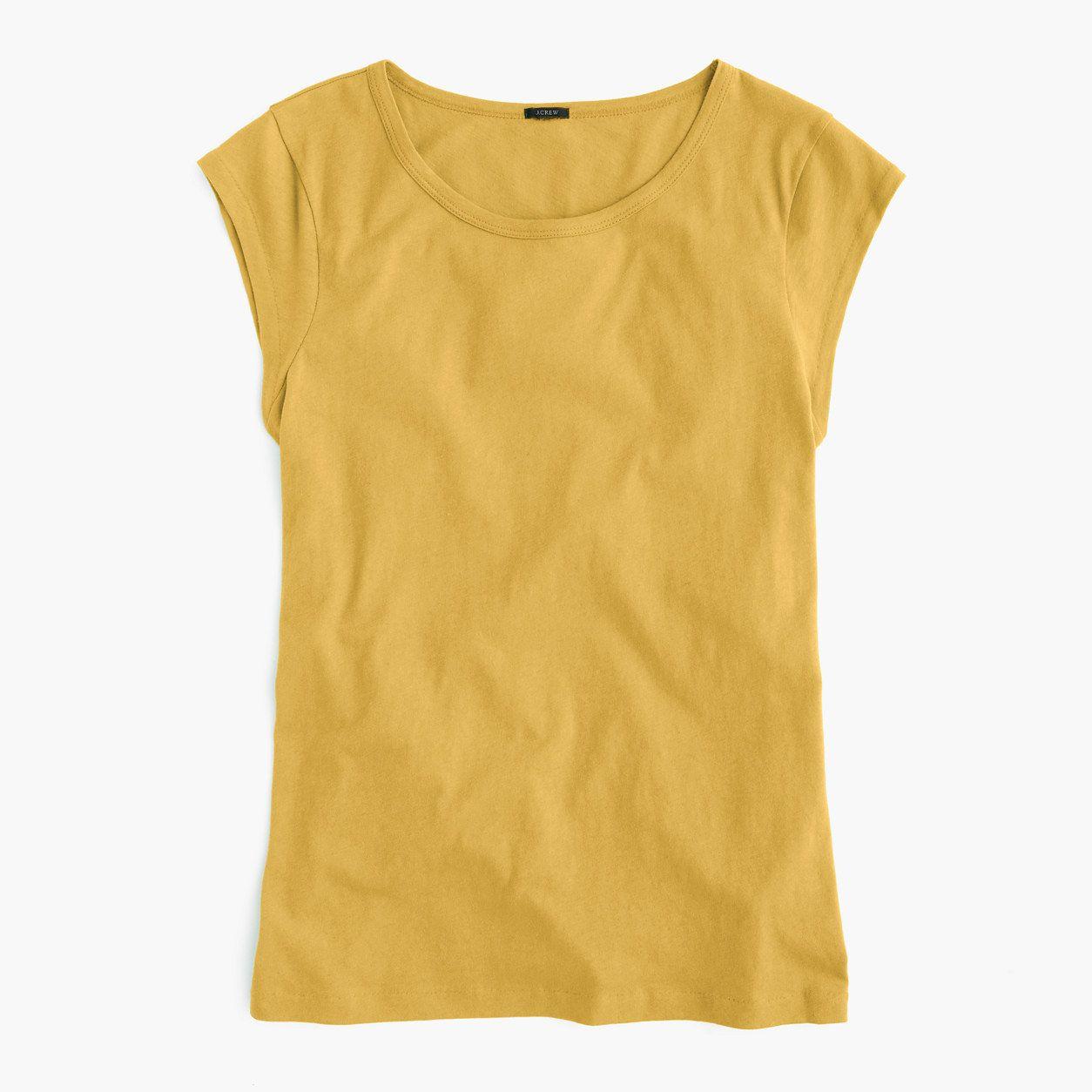 ffa33cd09a0 J.Crew Womens Ballet Cap-Sleeve T-Shirt (Size XXS)
