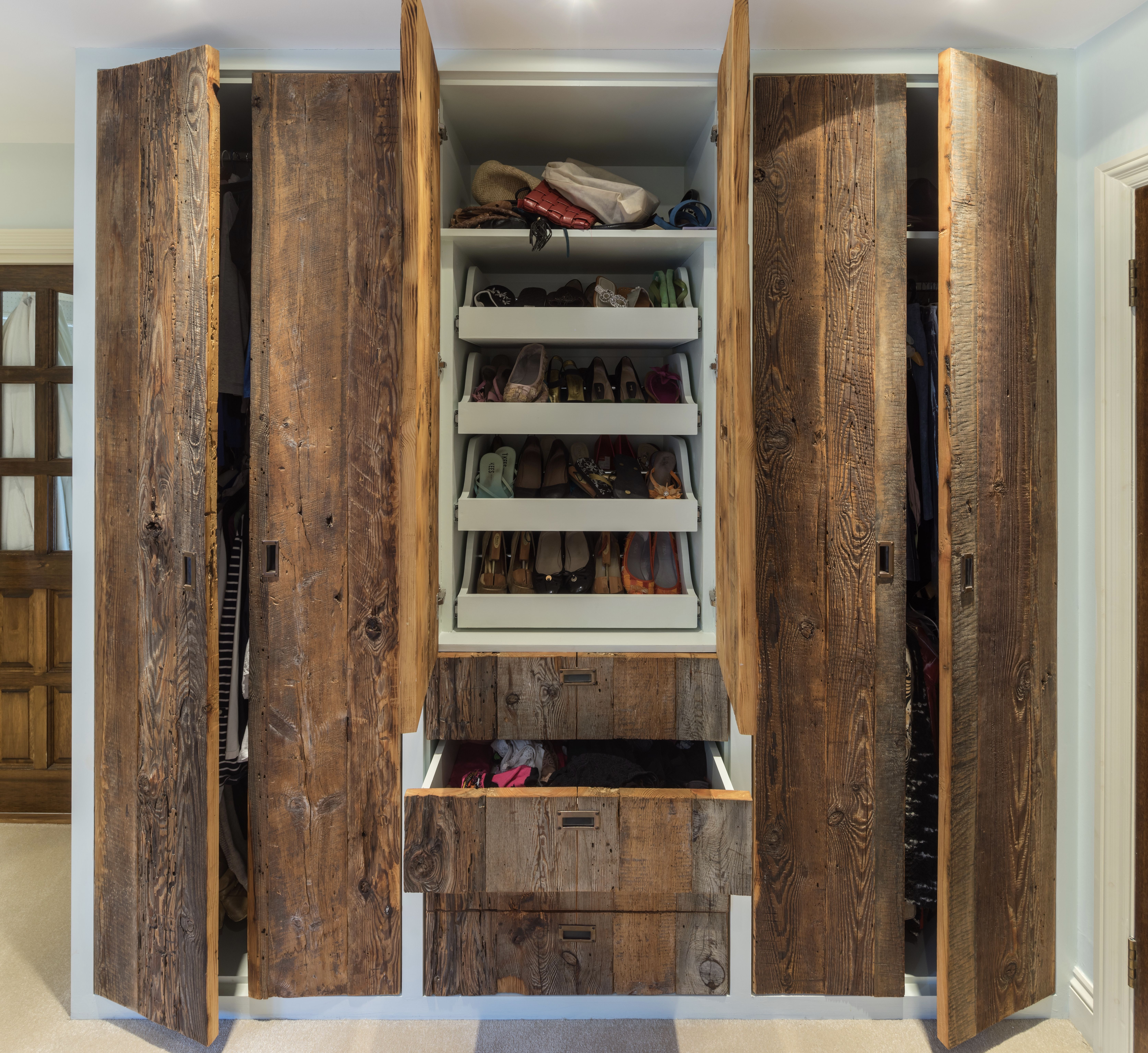 Brandler London Reclaimed Wood Wardrobes Feature Rich Textures And
