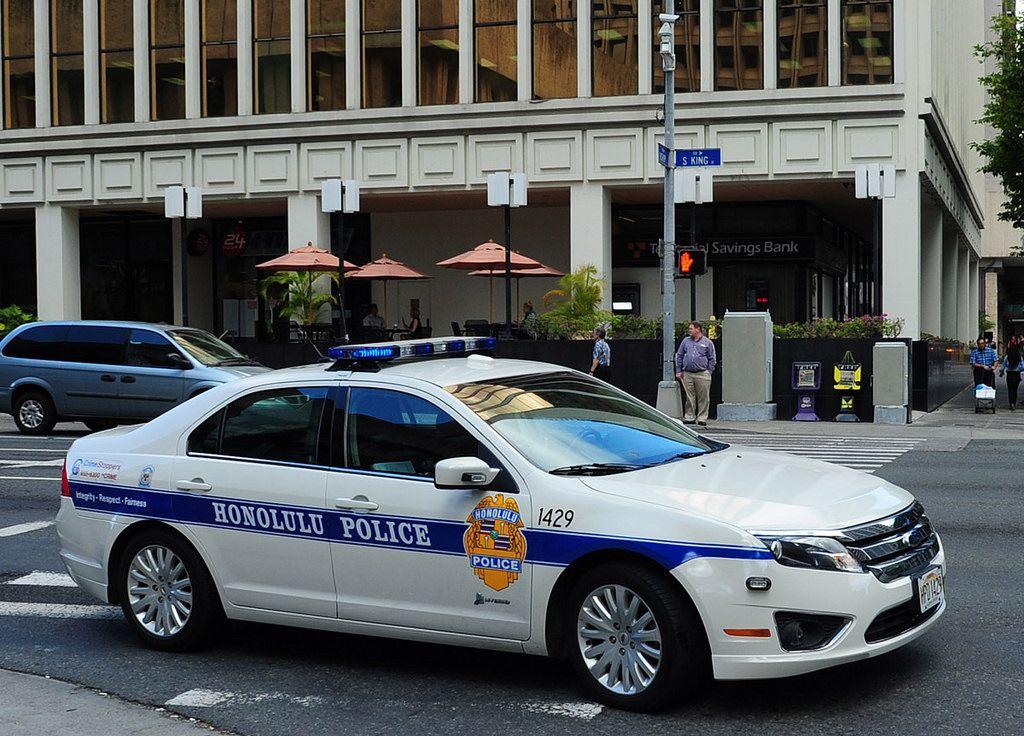 Honolulu Police Car Police Cars Honolulu Police Police