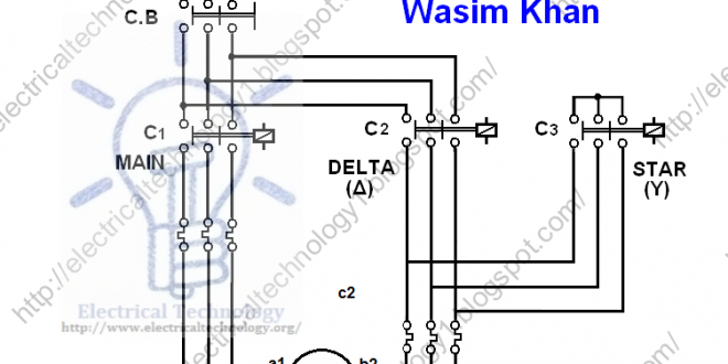 Star Delta Starter Motor Starting Method Power Control Wiring