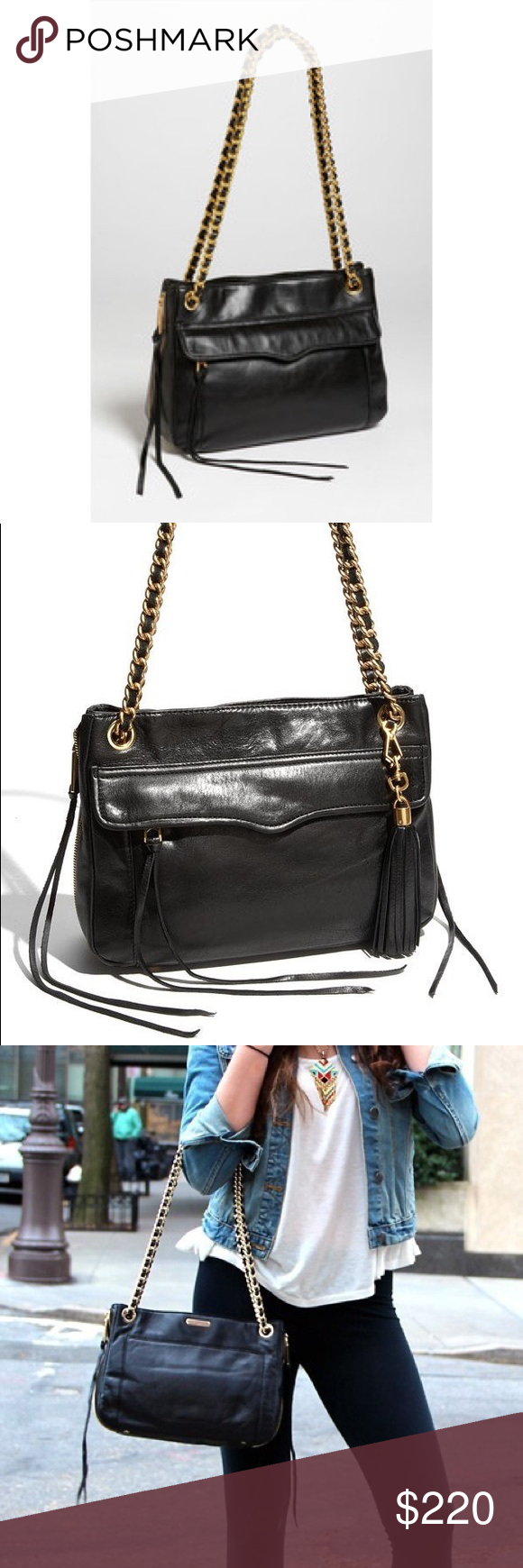 a34e0b813c5d Shoulder Bag · Conservative Style · NWOT Rebecca minkoff swing double chain  strap The swing is a versatile