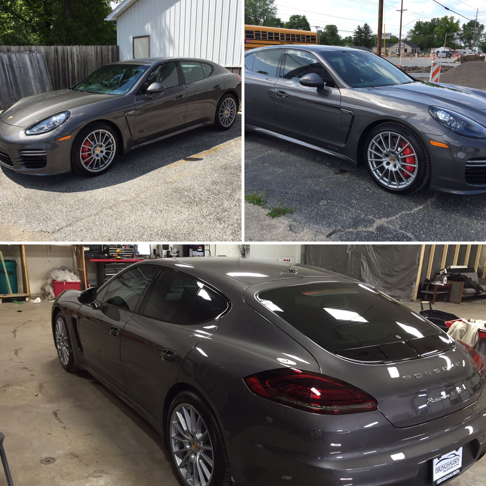 Window Tinting Film >> Porsche Panamera Window Tinting Ceramic Heat Rejection, UV Protection, Sun Protection, Privacy ...